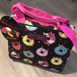 Betsey Johnson Insulated Lunch Tote. NWT
